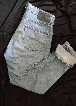 Armani jeans blue power джинсы размер l