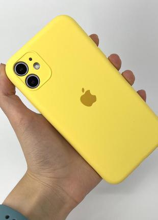 Чехол silicone case на айфон для iphone 11