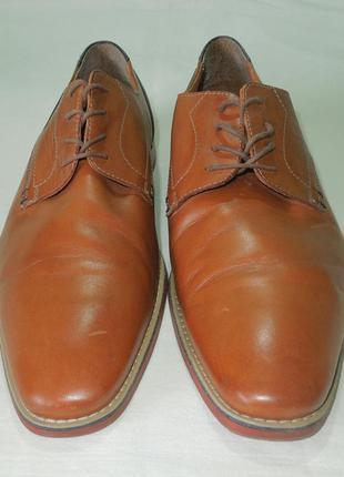 Туфли мужские кожаные коричневые размер 44