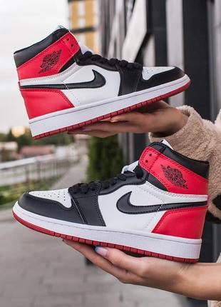 Nike air jordan 1 retro high женские кроссовки