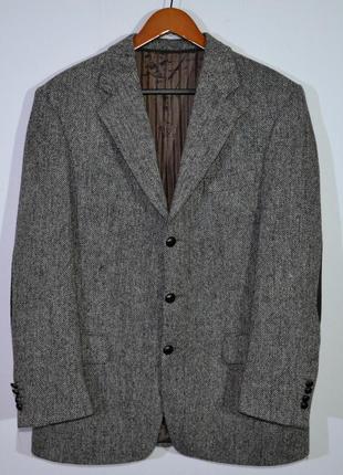 Пиджак твидовый harris tweed barutti blazer