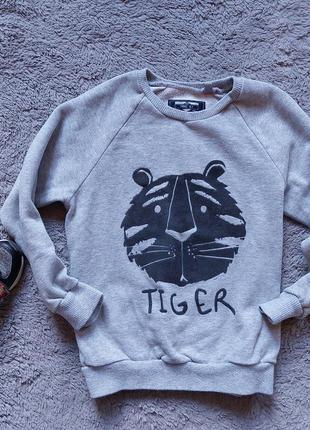 Свитшот с тигром для мальчика