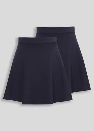 Плотная юбка трикотаж в школу англия