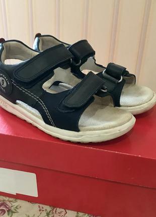 Кожанные сандали / босоножки garvalin испания / 30 размер
