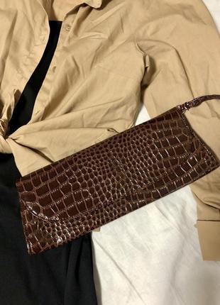 Небольшая сумка клатч эко-кожа