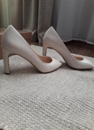 🌿 туфли-лодочки с открытым носочком