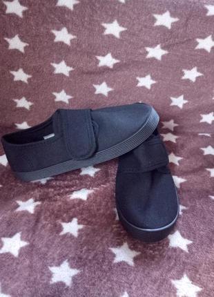 Садиковые тапочки сменка сменная обувь макасины 19,7 см