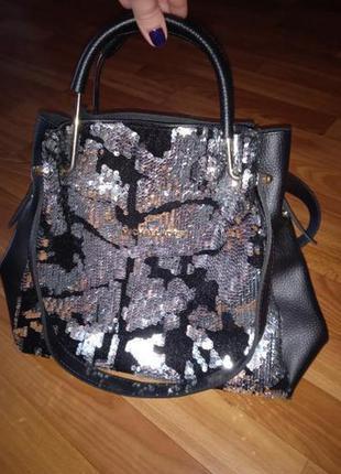 Шикарна сумка,кож-зам