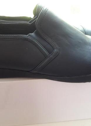 Кожаные туфли clarks,41 размер