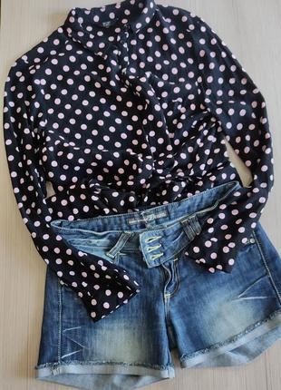 Джинсовые шорты tom tailor