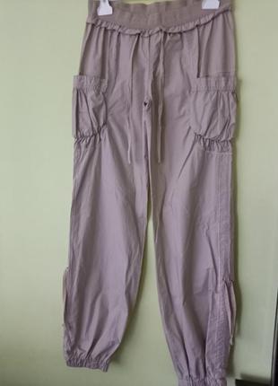 Легкие, широкие штаны