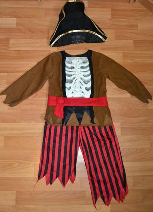 Карнавальный костюм пират на 3-4 года, 4-5 лет