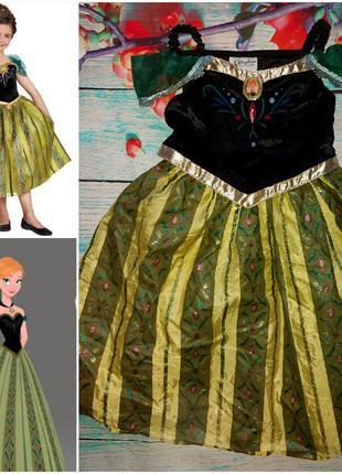 Костюм,платье принцесса анна м/ф холодное сердце на 6-7лет.