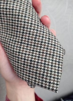 Новый шерстяной галстук,в гусиную лапку.