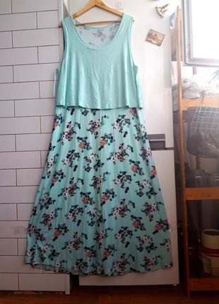 Качество!!натуральное платье в пол.02
