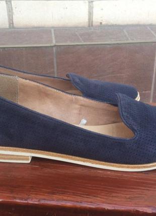 Балетки мокасины туфли лоферы, бренд 5th avenue