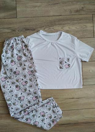 Пижама штаны и футболка