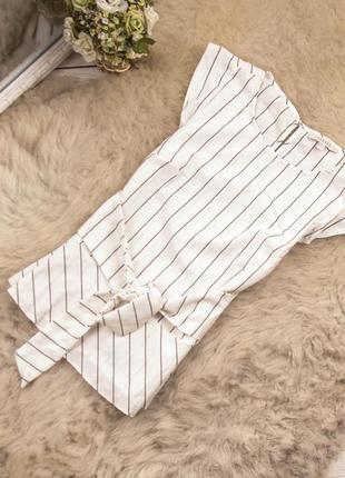 Красивая качественная блуза топ от oasis рр 10 наш 44