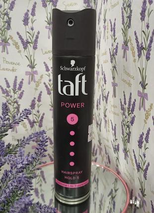 Лак для волосся taft power ніжність кашеміру мегафіксація 5 250 мл