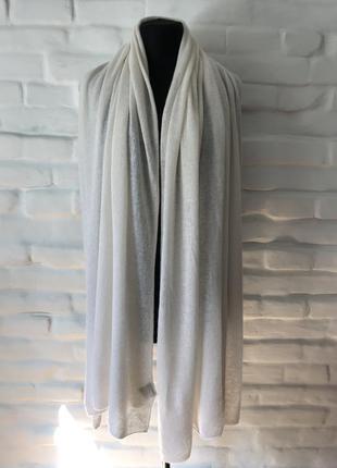 Объёмный шарф из кашемира и шерсти cashmere collection