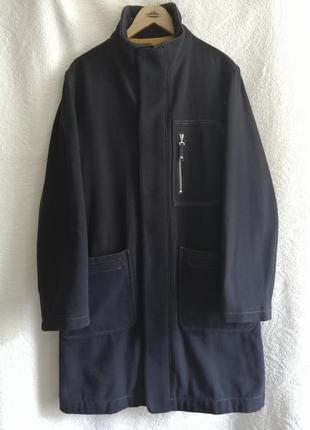 Пальто, шерсть, большой размер, armani jeans, оригинал