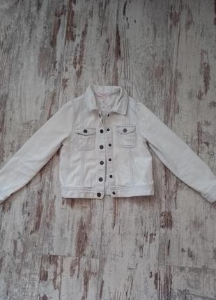 Джинсовая куртка курточка на заклёпках