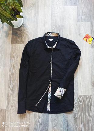 Женская крутая оригинальная рубашка burberry размер с-м