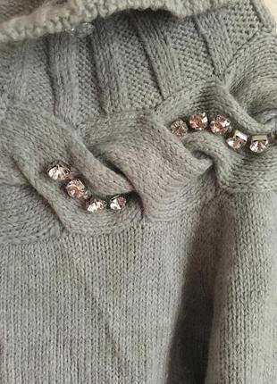 Шикарнейшая кофта, свитер с шерстью альпака от fracomina