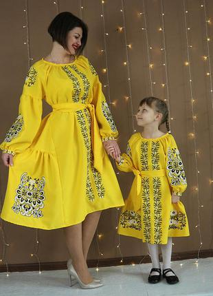 Фемелі вишиванки (мама+дочка)