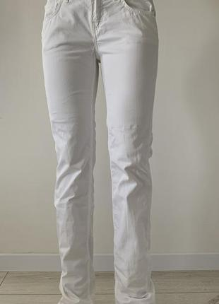 Белые штаны, белые брюки, женские белые брюки.