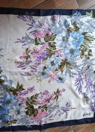 Подписной шелковый платок carnaby