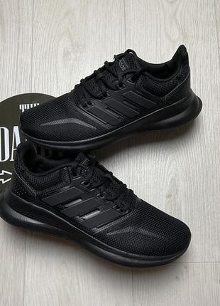 Черные кроссовки adidas runfalcon, размер 39-39,5