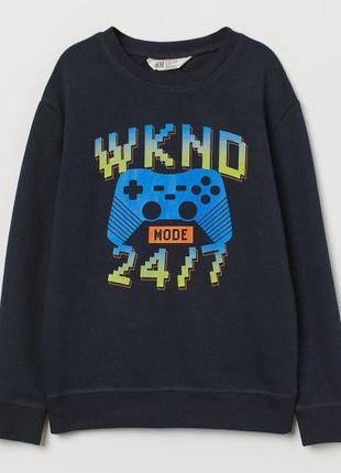Яркий свитшот h&m геймеру