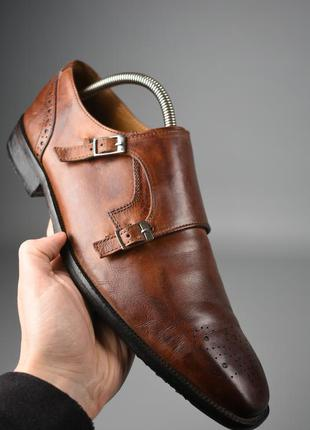 Туфли монки melvin & hamilton оригинал кожа классика