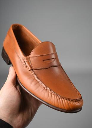 Туфли  лоферы мужские caponi италия