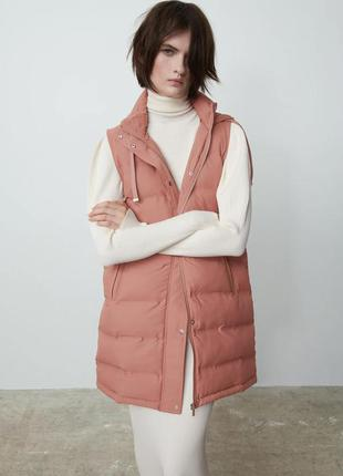 Новая женская жилетка zara s zara жіноча куртка