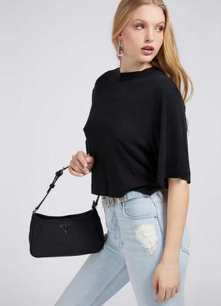 """💥нейлоновая сумка guess """"little bay shoulder bag guess""""💥успей купить!🎁"""