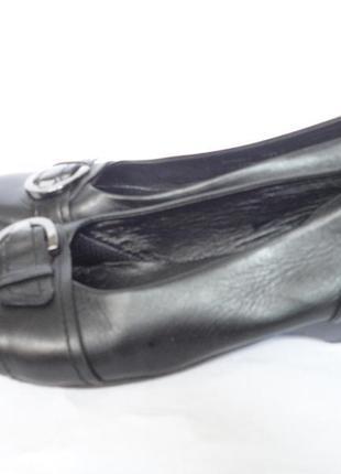 Кожаные туфли очень удобные р.41