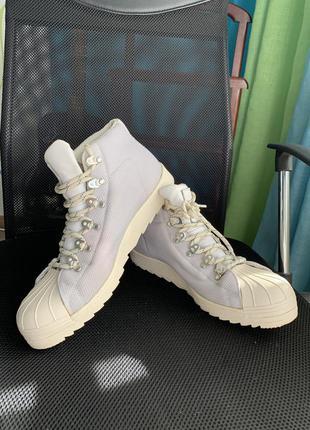 Adidas boots goretex pro model chalk white