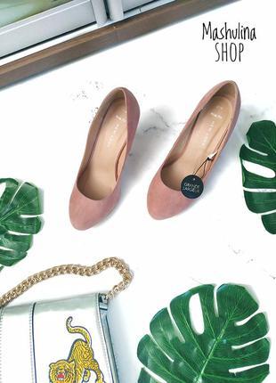 🌷новые туфли красивого цвета фирмы new look