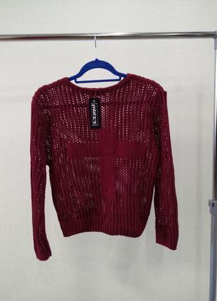 Свитер кофта джемпер вязаный свитшот оверсайз пуловер