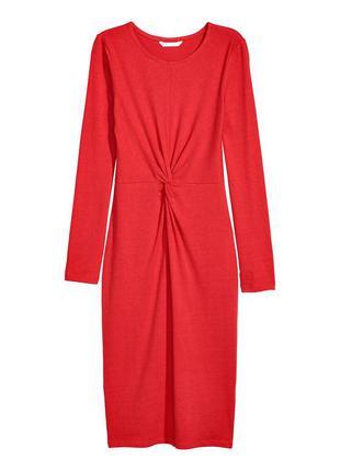 Платье футляр миди н&м евро 34( uk8)