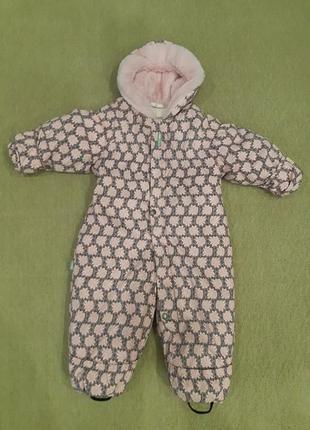 Дитячий термо комбінізон lenne, рожевий ,ріст 80