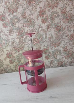 Заварной чайник с прессом стеклянный