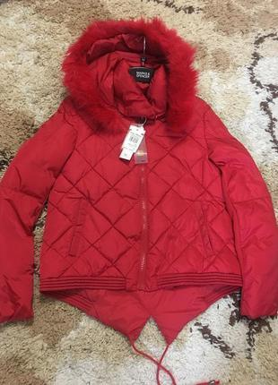 Шикарная итальянская фирменная куртка rinascimento