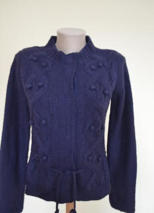 Фирменная шерстяная кофта tom tailor