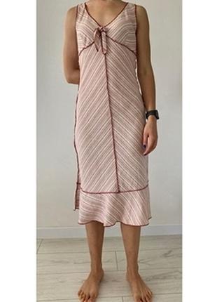 Платье, разноцветное платье, полосатое платье, летнее платье.
