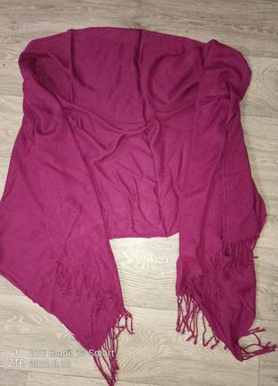 Большой хлопковый шарф, платок