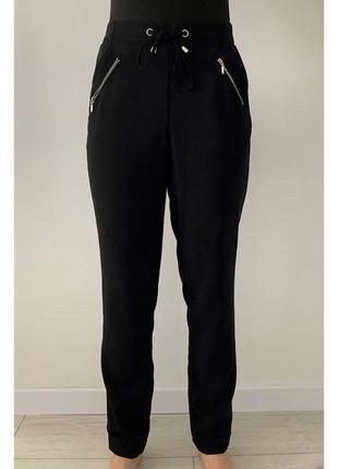 Брюки, штани чорні, класичні штани, легкие брюки, стильные.