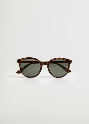 Солнцезащитные круглые очки mango / сонцезахисні круглі окуляри mango